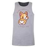 Cuter Than a Corgi Butt Orange Men's Tank Top