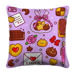 Sweet Delivery White Pillow Case