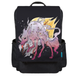 Many Eyed Wolf Backpack Flap