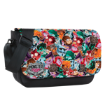 Bunch of Monster Faces Sublimated Messenger Flap