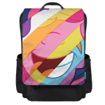 Pony Smiles Backpack Flap
