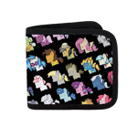 Pixel Pony Canvas Wallet