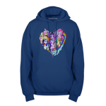 Hearts and Friends Pullover Hoodie