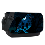 Scary Forest Sublimated Messenger Flap