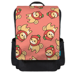 Strawberry Shiba Toss Backpack Flap