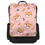 Shiba Shapes Toss Backpack Flap