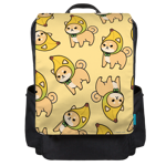 Shibanana Toss Backpack Flap