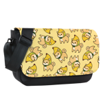 Shibanana Toss Sublimated Messenger Flap