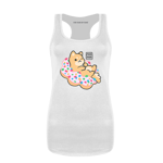 Pink Donut Women's Tank Top
