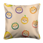 Fruithead Shiba Toss White Pillow Case