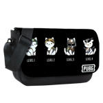 Cat Levels Sublimated Messenger Flap