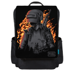 Battleground on Fire Backpack Flap