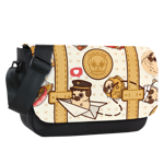 Passpoot Luggage Sublimated Messenger Flap