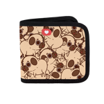 Puglie Pile Canvas Wallet