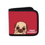 Treat Yourself Canvas Wallet