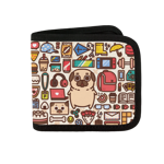 Nichijou Puglie Canvas Wallet