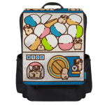 Puglie Gachapoot Backpack Flap