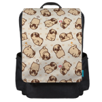 Floating Puglie Backpack Flap