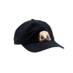 Peeking Puglie Dad Cap