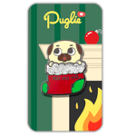 Puglie Holiday Slider Pin
