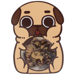 Puglie Flake Stickers