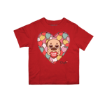Sweetheart Puglie Toddler Tee