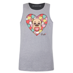 Sweetheart Puglie Men's Tank Top