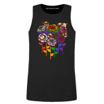 Puglie Rainbow Roses Men's Tank Top