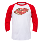 Pocky Playground Baseball Tee