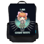 I Am Combat Ready! Backpack Flap