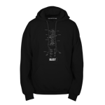 Auto Turret Blueprint v2 Pullover Hoodie