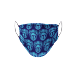 Sports Logo Pattern Mask