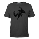 Shovel Knight Plague Knight Silhouette - Black Ink