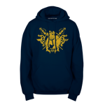 Royal Logo Pullover Hoodie - Yellow Ink