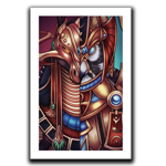 Set & Horus Art Print