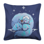 Winter's Embrace Pillow Case