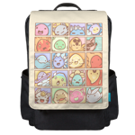 The Many Faces of Slimes Backpack Flap
