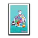 Slime Bottle Art Print