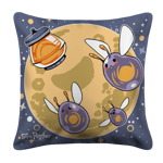 Three Slime Moon Pillow Case