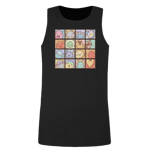 The Many Faces of Slimes Men's Tank Top