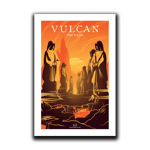 Vulcan - Fire Plains Art Print