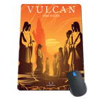 Vulcan - Fire Plains Mousepad