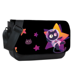 A Cat From Space Sublimated Messenger Flap