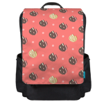 Cookie Cat Print Backpack Flap