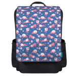 Lion Pattern Backpack Flap