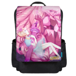 Diamond Heart Backpack Flap