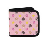 Cookie Cat All Over Canvas Wallet