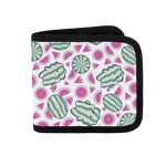 Watermelon All Over Canvas Wallet