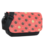 Cookie Cat Print Sublimated Messenger Flap