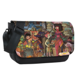 Halloween Gems Sublimated Messenger Flap